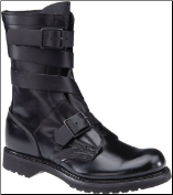 "Corcoran Men's 10"" Black Leather Tanker Boot 5407"