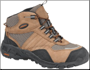Carolina Men's AeroTrek Steel Toe Athletic Mid-Brown 6549