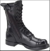 "Corcoran Men's 10"" Side-Zipper Jump Boot with Jump Boot Outsole-Black Leather 995 (SKU: 995)"