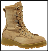 Belleville Mens Waterproof Flight & Combat Boot-Tan 790