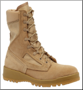 Belleville Womens Hot Weather Tan Combat Boot-Tan F390 DES