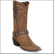 "Durango Women's Crush 12"" Western Boots - Dusk/Light Brown RD4155"