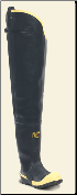 "LaCrosse Men's 00109050 Insulated Storm Hip Boot 31"" Black ST"