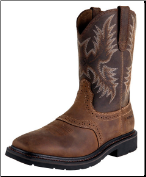 Ariat Men's Sierra Square Toe- Aged Bark 10010148