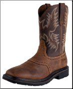 Ariat Men's Sierra Square Toe ST- Aged Bark 10010134