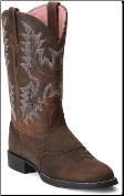 Ariat Women's Heritage Stockman Western Boots - Brown 10001605
