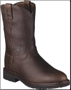 Ariat Men's Sierra Work Boots - Henna Wildcat 10002429