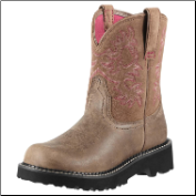 Ariat Women's Fatbaby Western Boots - Brown Bomber 10000822