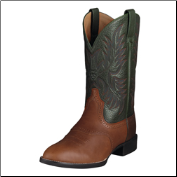 Ariat Men's Heritage Stockman Western Boots - Cedar / Green 10002258