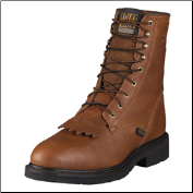 "Ariat Men's Cascade 8"" Steel Toe-Sunshine Wildcat 10002435"