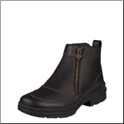Ariat Women's Barn Yard Side Zip-Dark Brown 10003562