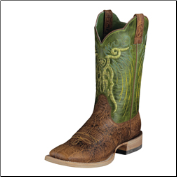 Ariat Men's Mesteno-Adobe Clay/Neon Lime 10006841 (SKU: 10006841)