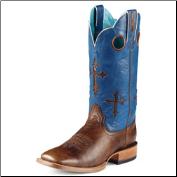 Ariat Men's Ranchero-Weathered Buckskin/Glacier Blue 10007679 (SKU: 10007679)