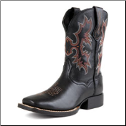 Ariat Youth Tombstone Kids-Black Deertan 10007845