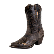 Ariat Women's Dahlia-Silly Brown/Chocolate Floral 10008780