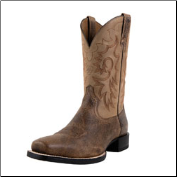 Ariat Men's Heritage Reinsman-Earth/Gate Post Brown 10008809 (SKU: 10008809)