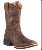 Ariat Men's Sport Wide Square Toe - Distressed Brown - 10010963