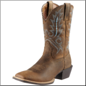 Ariat Men's Sport Outfitter Boots - Distressed Brown 10011801 (SKU: 10011801)