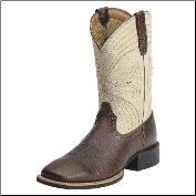 Ariat Men's Sport Wide Square Toe Boots - Washed Brown 10012786 (SKU: 10012786)