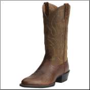 Ariat Men's Sport R Toe Boots - Fiddle Brown 10015295 (SKU: 10015295)