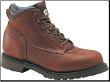 "Carolina Men's Domestic 6"" Steel Toe Work Boot-Amber Gold 1309"