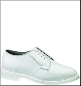 Bates Men's Lite's Leather Oxford-White - E00131