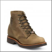 "Chippewa Men's 6"" Tan Rodeo Lace Up 20067 (SKU: 20067)"