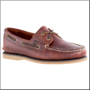 Timberland Men's Classic 2-Eye Boat Shoe - Rootbeer Smooth 25077