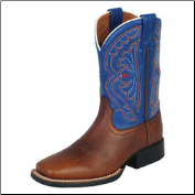 Ariat Kid's Quickdraw Boots-Royal Blue 10001863