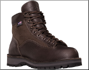 "Danner Men's 6"" Danner® Light II™ Dark Brown Waterproof Hiking Boots 33020"