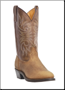 "Laredo Men's Western Boots ""Paris""- Tan Distressed 4242 (SKU: 4242)"