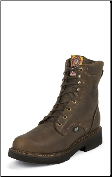 "Justin Men's Work Boots - 6"" Rugged Bay Gaucho, Non Steel Toe 444 (SKU: 444)"