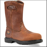 Timberland Pro Men's Titan Heavy Duty Safety Toe  Waterproof Wellington Work Boots - Brown 47017