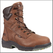 "Timberland PRO Men's Waterproof 8"" TiTAN Safety Toe Workboot Brown 47019"