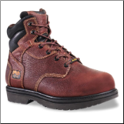 "Timberland PRO Men's TiTAN Intramet 6"" Steel Toe Boot - Burgundy/Brown 50504"