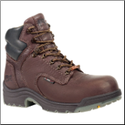 Timberland Titan Women's Waterproof Work Boots - Dark Mocha Full-Grain 53359