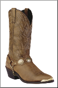 "Laredo Men's Western Boots ""Tallahassee""- Tan Distressed 6771 (SKU: 6771)"