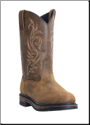 "Laredo Men's Work Boots "" Sullivan"" Steel Toe - Tan Cheyenne 68132 (SKU: 68132)"