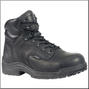 "Timberland Titan Women's 6"" Alloy Safety-Toe Work Boots - Black 72399"