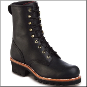 "Chippewa 8"" Black Oiled Steel Toe 73020 (SKU: 73020)"