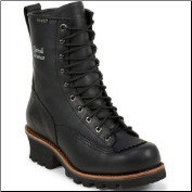 "Chippewa Men's 8"" Black Oiled Composite Toe Work Boot 73111 (SKU: 73111)"