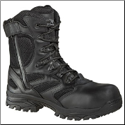 Thorogood 8'' Waterproof Side Zip Composite Safety Toe Boots - Black 804-6191