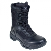 "Thorogood Men's 8"" Trooper Side Zip-Black 834-7991"