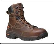 "Timberland Pro Men's Helix 8"" Composite Toe Waterproof Boot - Fox Brown 87566"