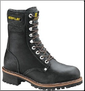 "Caterpillar Men's Seminole Safety Loggers 9"" – Black 88033 (SKU: 88033)"