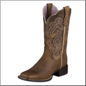 "Ariat Women's Quickdraw 11""- Badlands Brown 10006304"