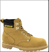 Caterpillar Men's Second Shift Safety Boots – Honey 89162