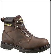 Caterpillar Men's Second Shift Safety Boots - Dark Brown 89586