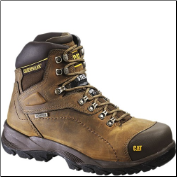 Caterpillar Men's Diagnostic Safety Boots - Dark Beige 89940