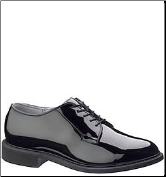 Bates Men's High Gloss Uniform-Black E00941